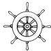 captains wheel